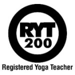Registered Yoga Teacher Logo